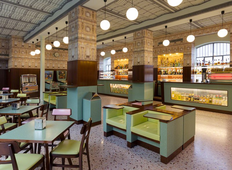 Bar Luce by Wes Anderson