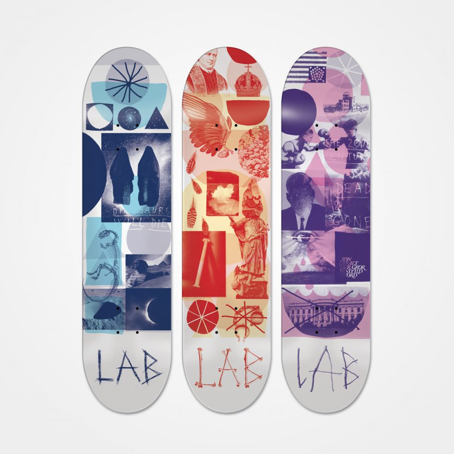 Emil Kozak – Skateboard decks for Lab.