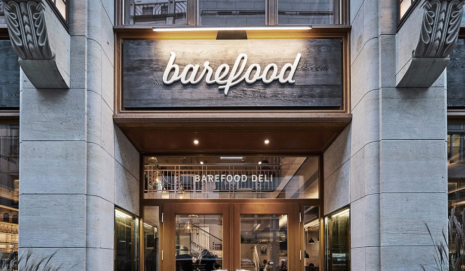 Barefood Deli  by Format Design