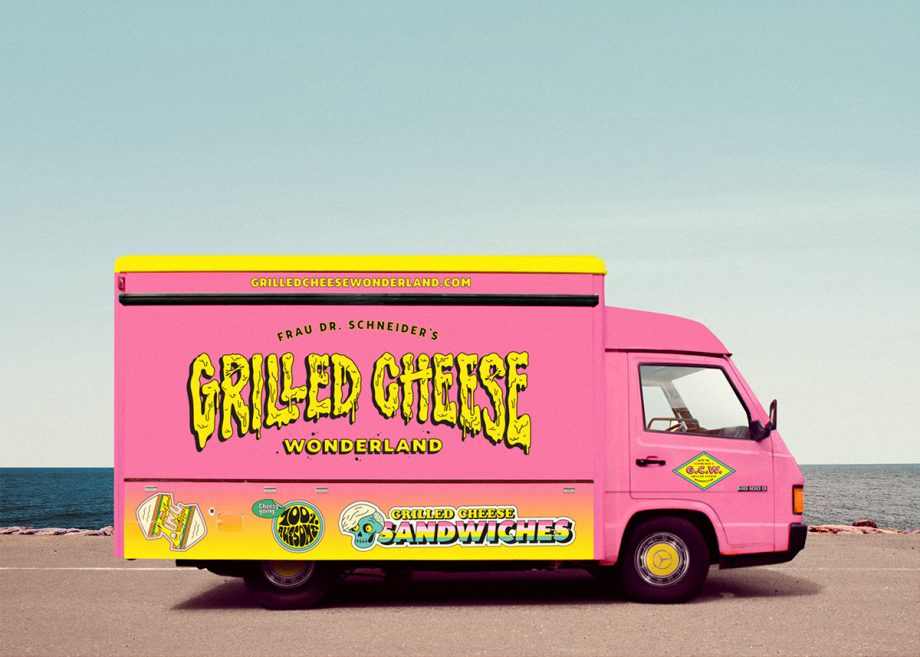 FDRS's Grilled Cheese Wonderland Foodtruckby We Are Büro Büro