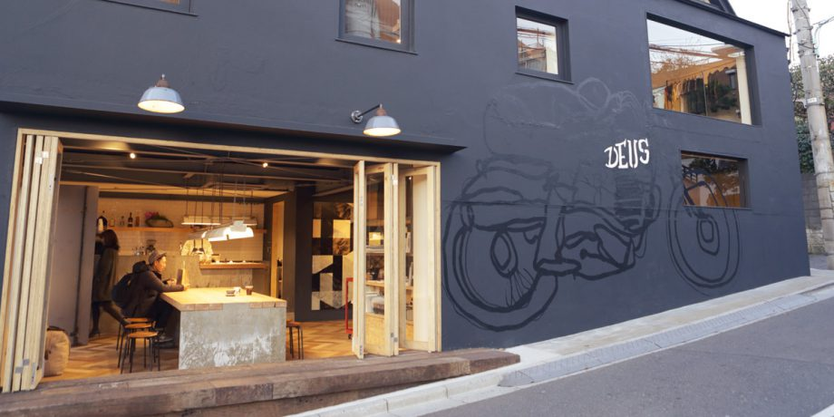Deus Ex Machina Café in Harajuku