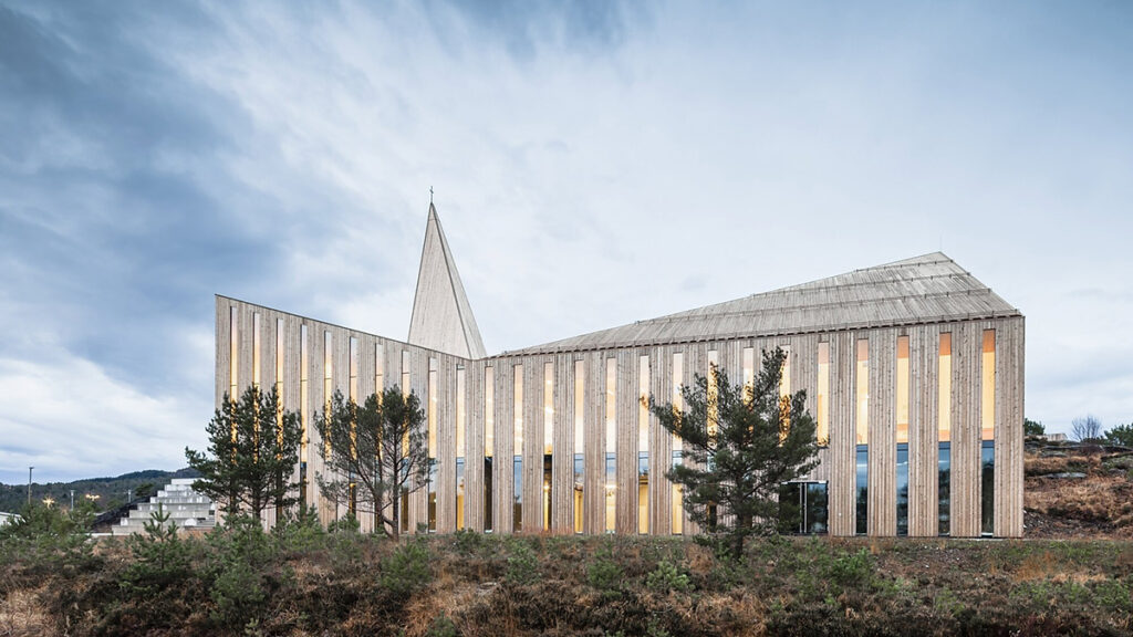 Community Church Knarvik by Reiulf Ramstad Architects