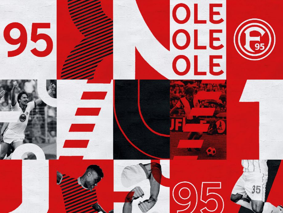 Fortuna Düsseldorf 1895 Sports  by Morphoria Collective