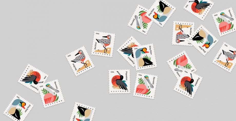 USPS Coastal Birds  by Always With Honor