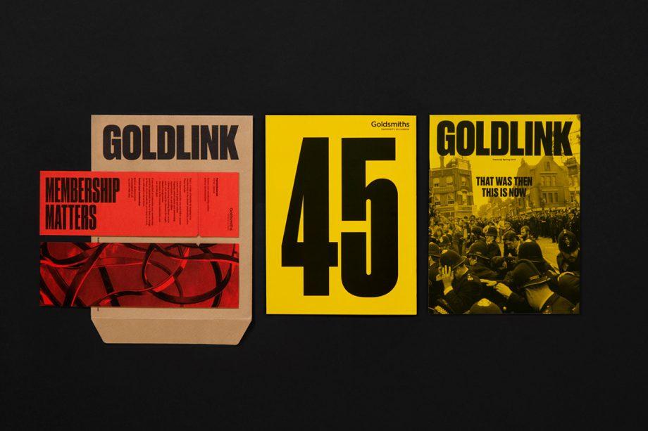 Goldlink Magazine  by Spy Studio