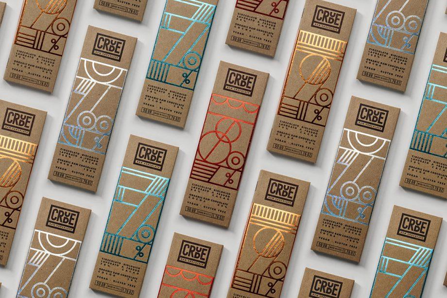 CRUDE — Raw Chocolate  by Happycentro Design Studio
