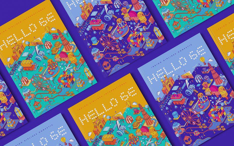 Indigo Airlines Magazine – Cover Design  by Shaivalini Kumar