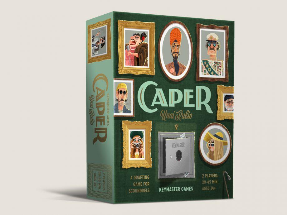Caper Game-Box  by Emrich