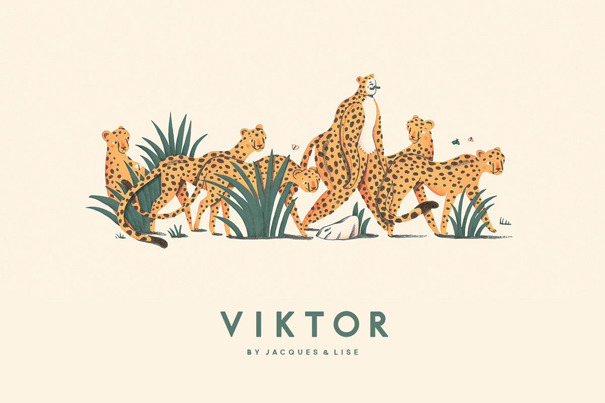 Childrens book Viktor