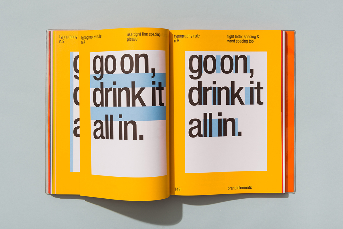 vitaminwater Brandbook by Collins