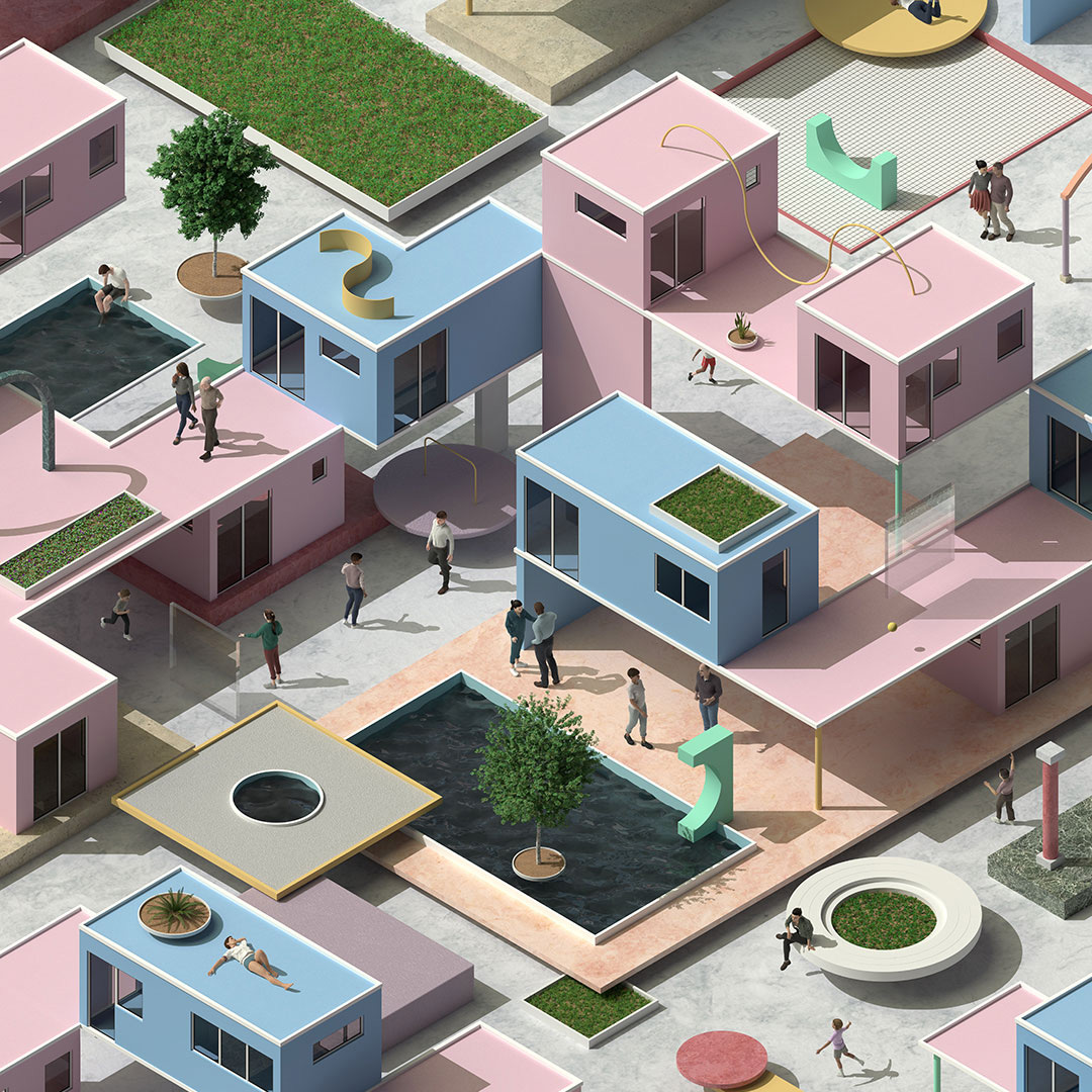 Max Guther – Illustration in 3D