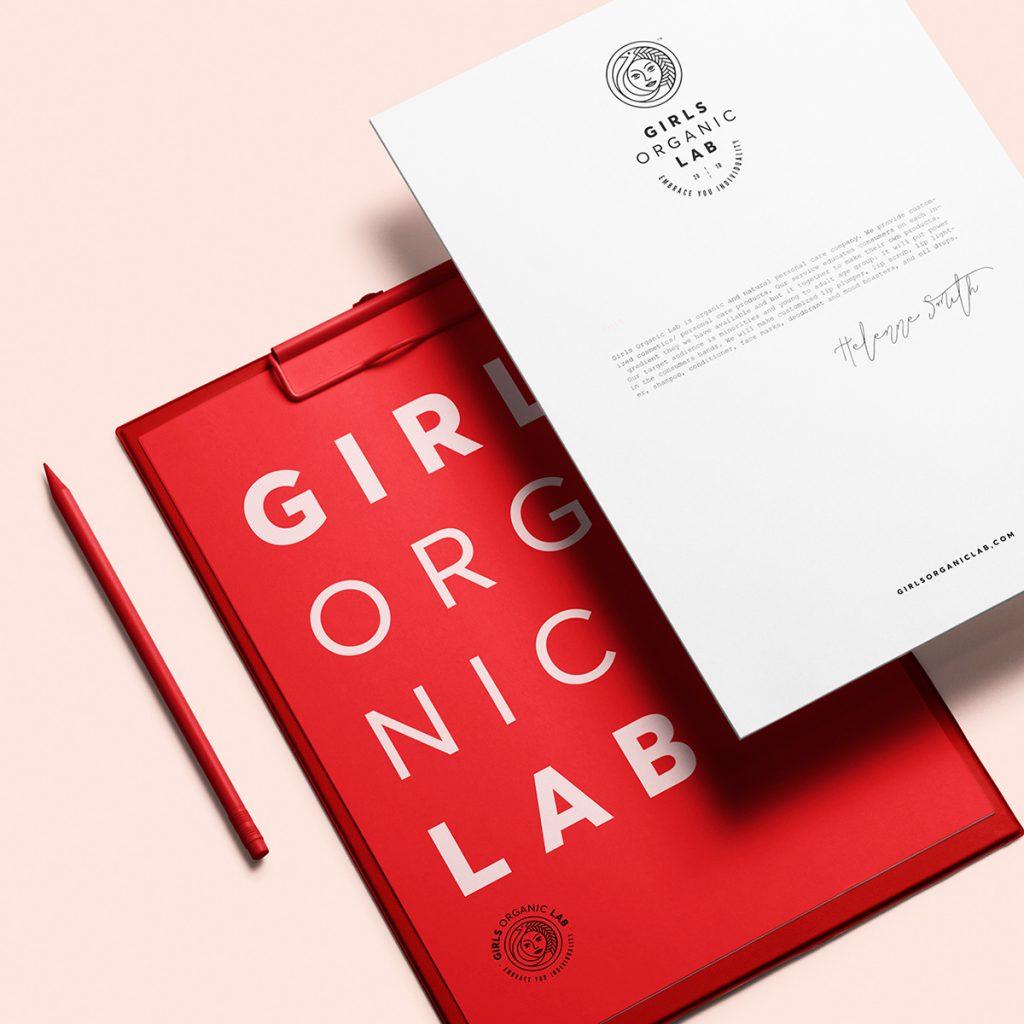 Girls Organic Lab | Branding
