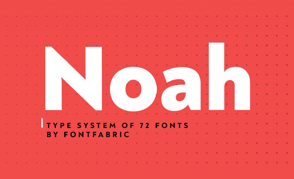Noah by fontfabric