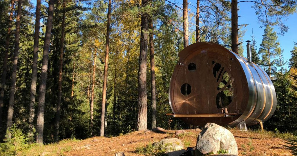 The Fuselage by Tree Tents