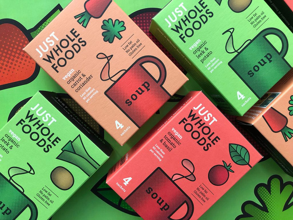 Just Wholefoods by studio h