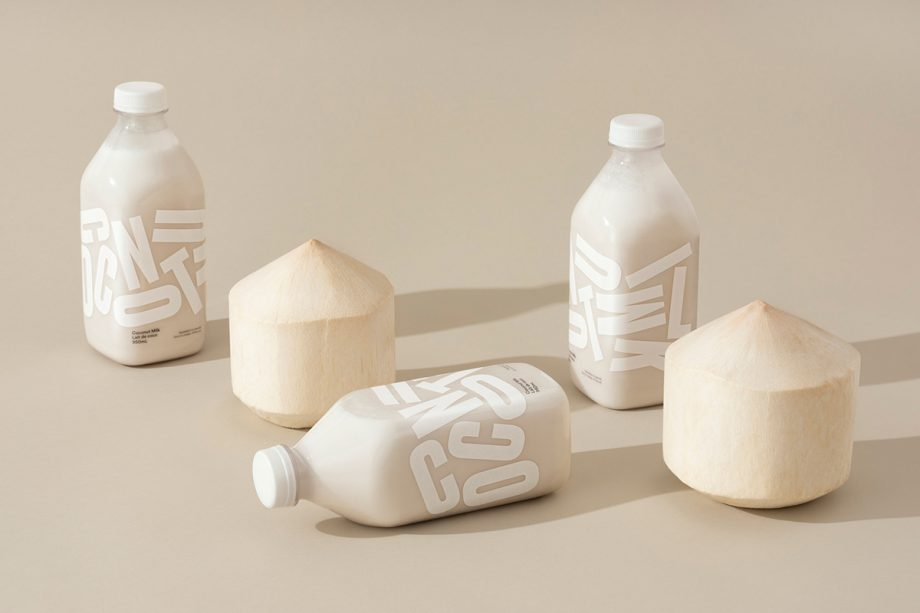Coconut Milk  by Leo Burnett Design