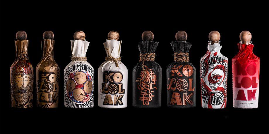 Kololak House Wine  by Backbone Branding