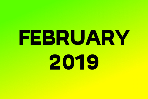 Link Of The Month – February 2019