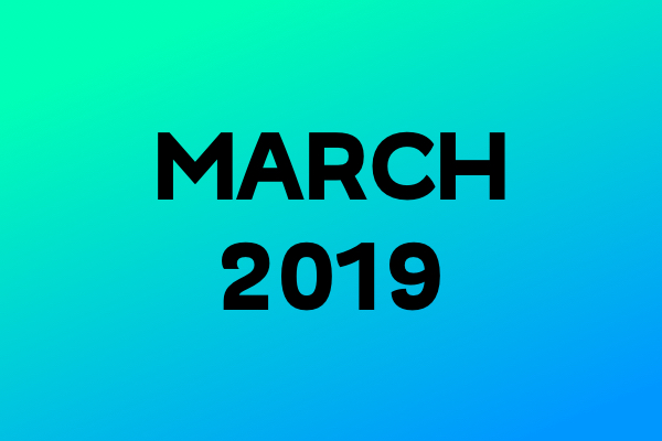 Link Of The Month – March 2019