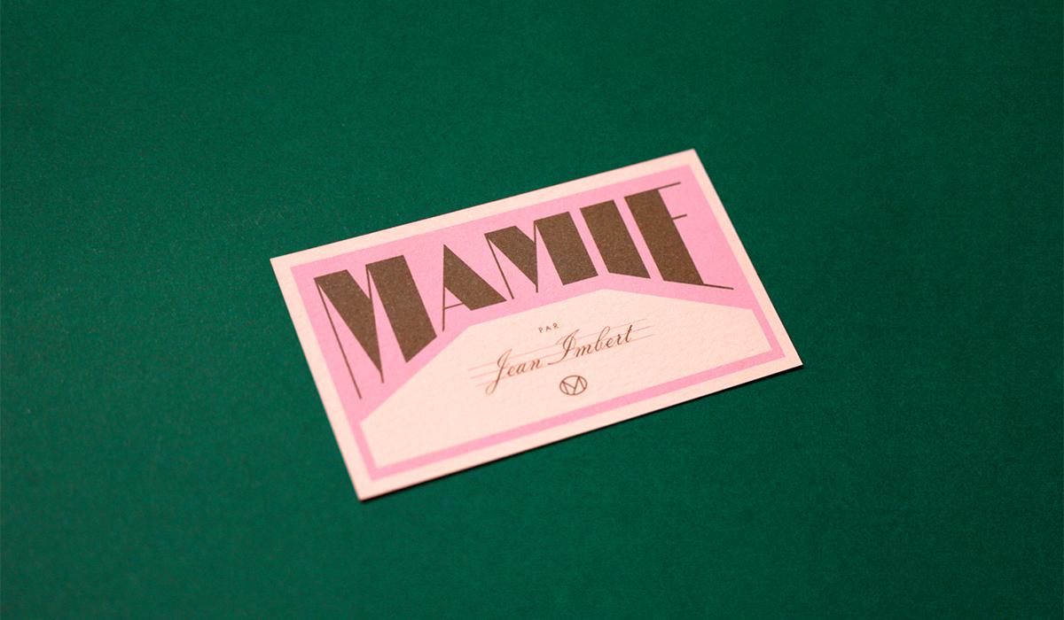 Mamie by Violaine & Jeremy