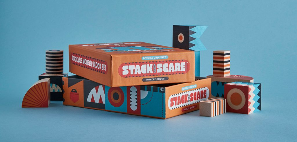 Stack And Scare! by Invisible Creature
