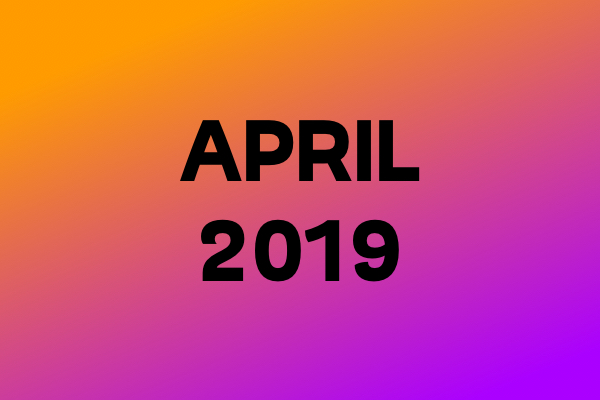 Link Of The Month – April 2019