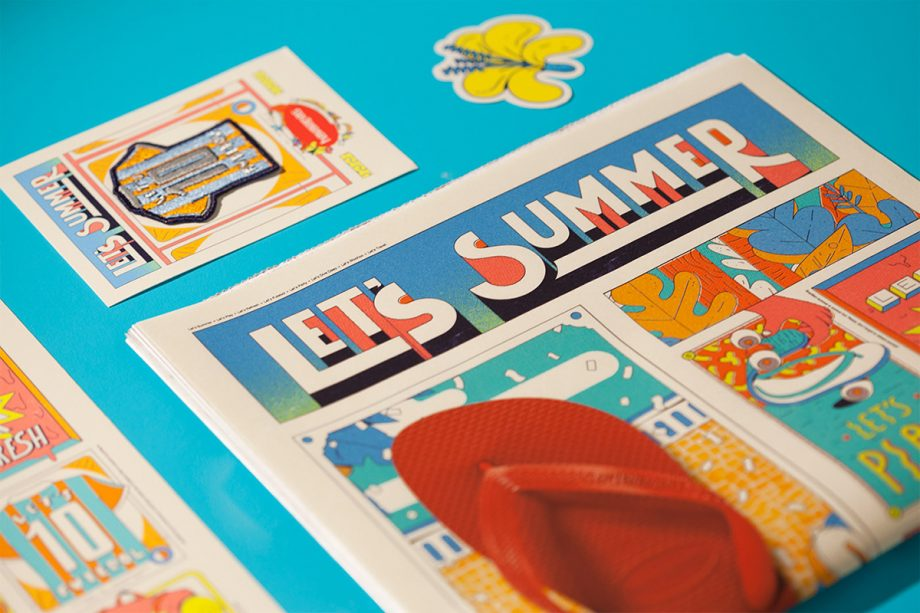 Havaianas Let's Summer  by Estudio Pum
