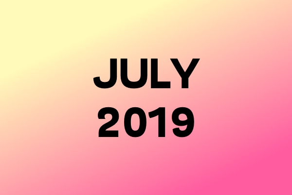 Links Of The Month – July 2019