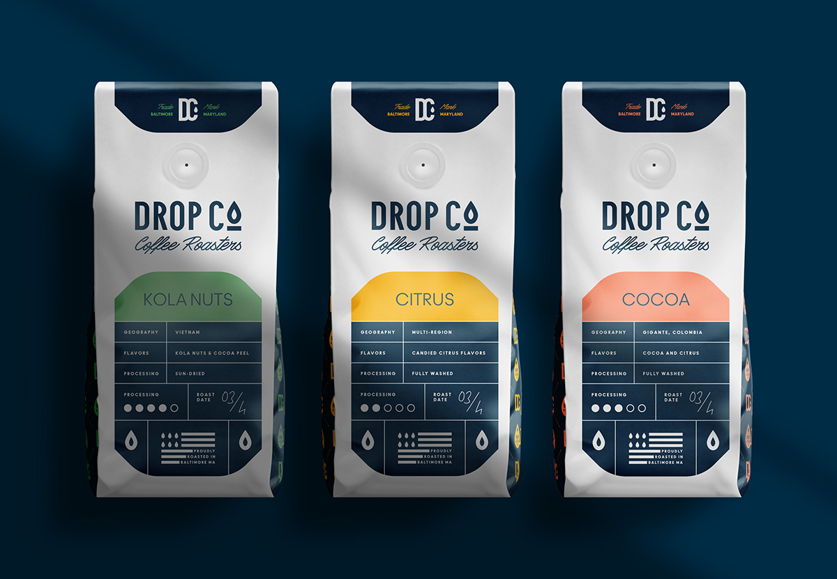 Drop Co. Coffee Roasters by Marka Network