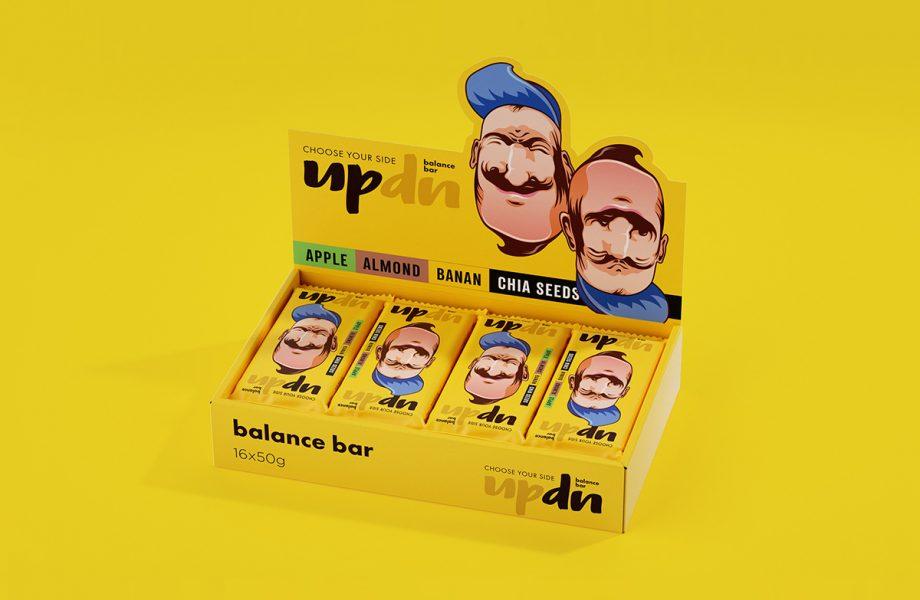 UpDn raw bar  by Ohmybrand