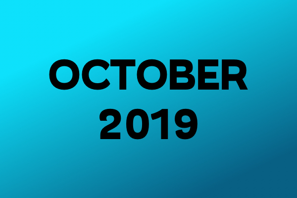 Links Of The Month – Oktober 2019