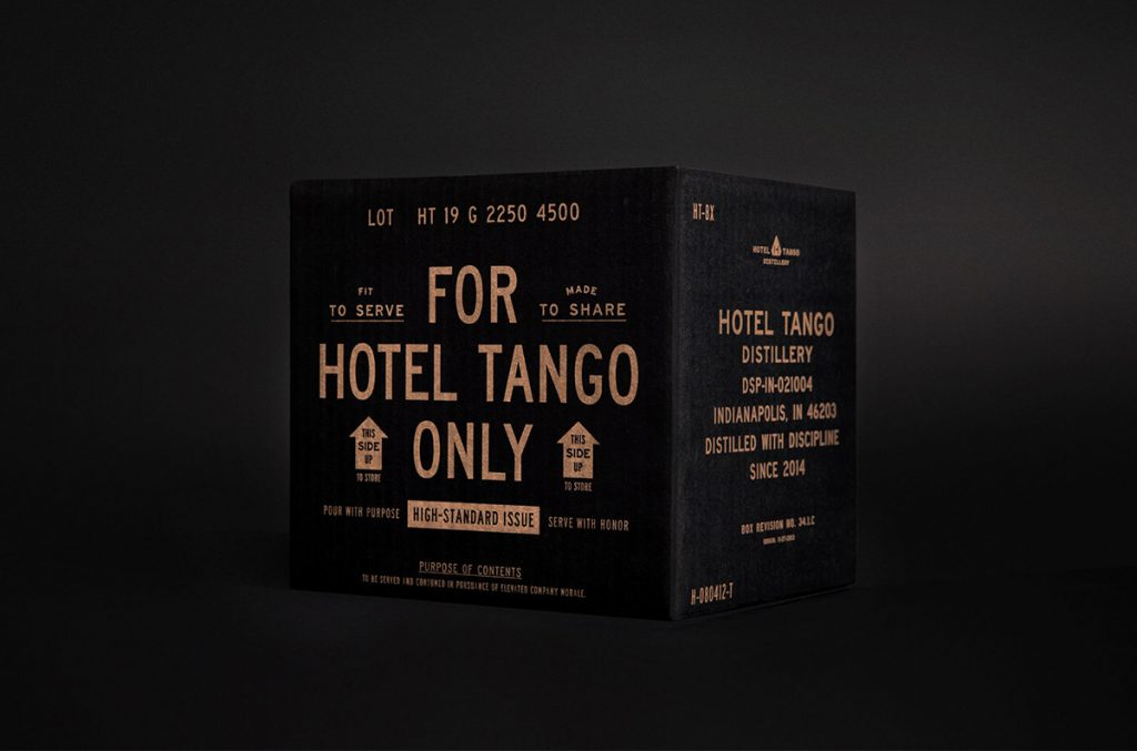 Hotel Tango Distillery by Young & Laramore