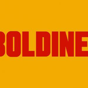 Boldine Typeface by Wisnu Cipto