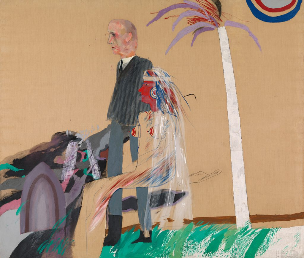 David Hockney: The First Marriage (A Marriage of Styles I), 1962, Tate, © David Hockney, Foto: Tate