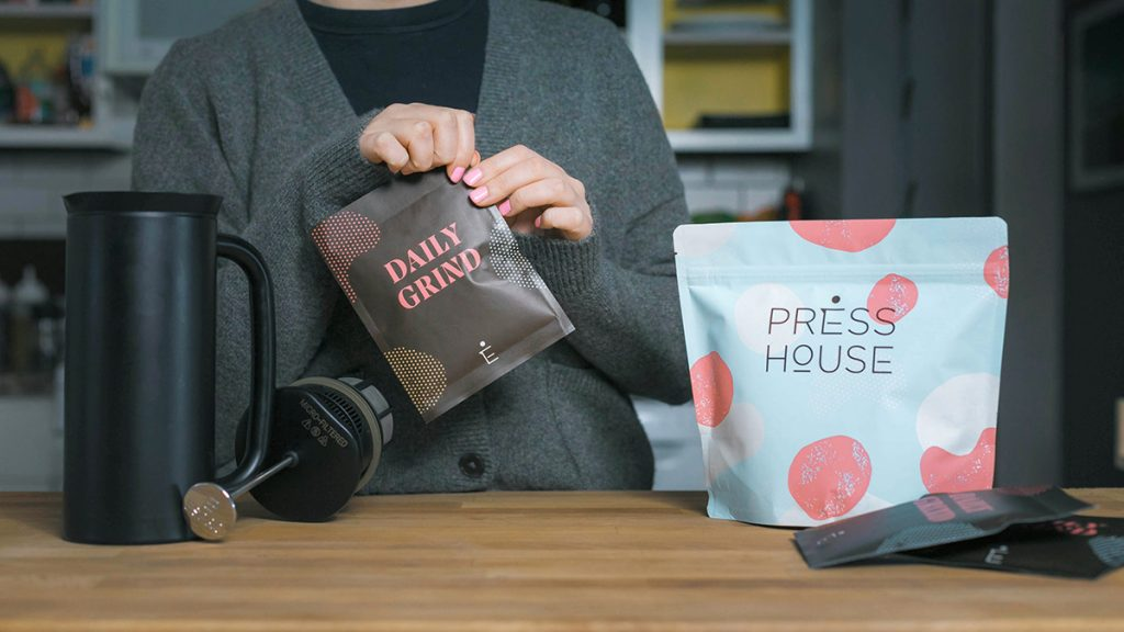 Press House Coffee by Top Hat
