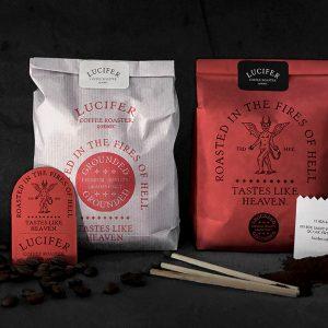 Lucifer Coffee Roaster by BIS Studio