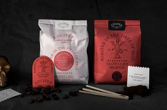 Lucifer Coffee Roaster by BIS Studio