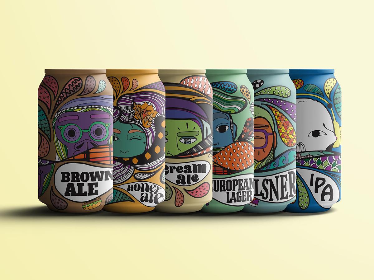 Latas de Cervezas by Oh Carola