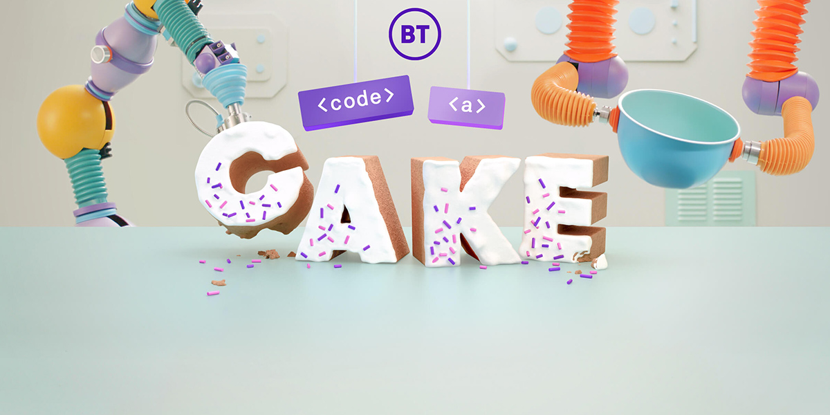 BT »Code a Cake« by AnalogFolk