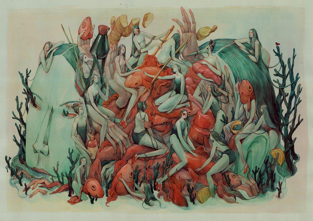 Marija Tiurina Illustration