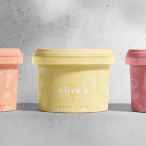 Olive's Organic Ice-Cream by Karolina Król