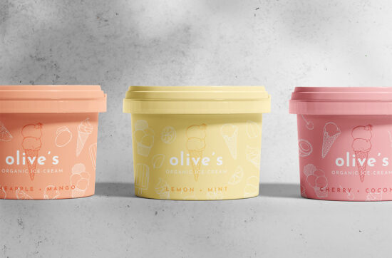 Olive's Organic Ice-Cream by Karolina Król