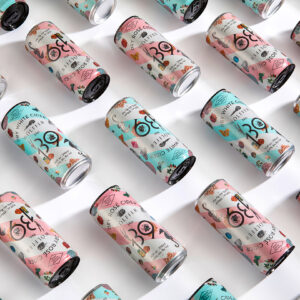 Wölffer Cider Cans <br /> by IWANT Design