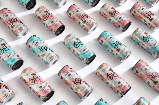 Wölffer Cider Cans by IWANT Design