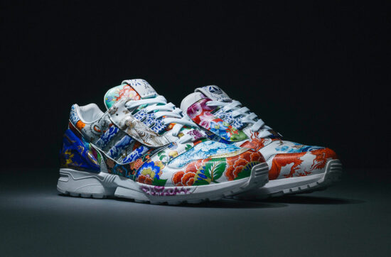ZX8000 Porcelain by adidas X Meissen