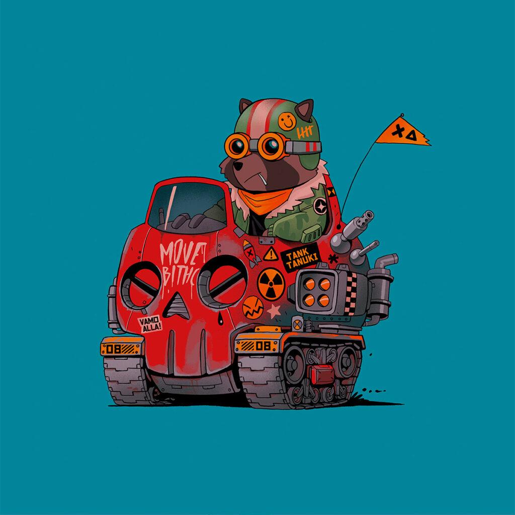Mad Kobra Illustration