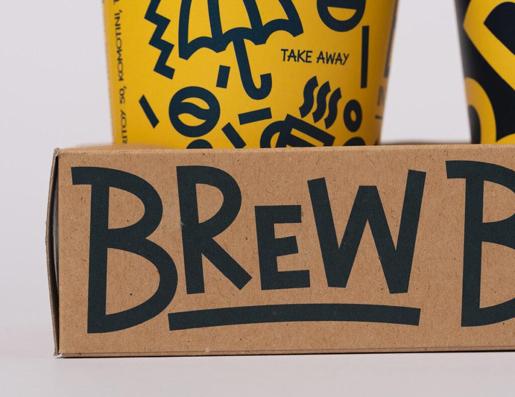 Brew Organic Coffee by Studio Hervik